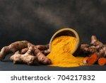 Turmeric Powder And Fresh...
