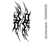 tattoos art ideas designs  ... | Shutterstock .eps vector #704244325