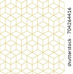 abstract geometric  hexagonal... | Shutterstock . vector #704264416