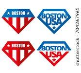 united states of america vector ... | Shutterstock .eps vector #704267965