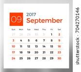 calendar planner template for... | Shutterstock .eps vector #704270146