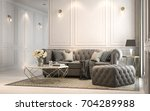 interior living studio  modern... | Shutterstock . vector #704289988