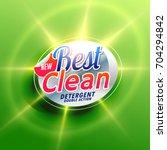 laundry detergent creative... | Shutterstock .eps vector #704294842