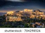 The Acropolis And Parthenon Of...