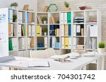 interior of modern open plan...   Shutterstock . vector #704301742