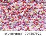 background of roses | Shutterstock . vector #704307922
