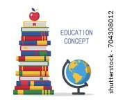 education template design with... | Shutterstock .eps vector #704308012