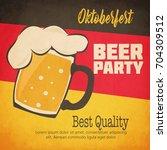oktoberfest celebration design | Shutterstock .eps vector #704309512