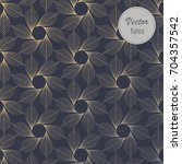 linear vector pattern ... | Shutterstock .eps vector #704357542