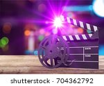 cinema. | Shutterstock . vector #704362792