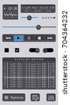 audio player template.
