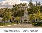 calabasas  usa. circa january... | Shutterstock . vector #704373532