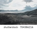 layer volcanic ash as sand... | Shutterstock . vector #704386216