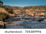 view upstream of the treur... | Shutterstock . vector #704389996
