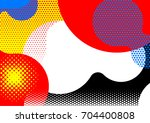 bright abstract background with ... | Shutterstock .eps vector #704400808