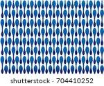 blue geometric shape pattern... | Shutterstock .eps vector #704410252