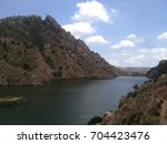 lake and mountain view | Shutterstock . vector #704423476