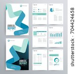 template design for company... | Shutterstock .eps vector #704424658