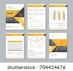 template design for company... | Shutterstock .eps vector #704424676