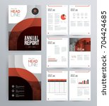 template design for company...   Shutterstock .eps vector #704424685