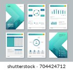template design for company... | Shutterstock .eps vector #704424712