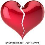 Broken Heart Shape Classic....