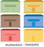 houses | Shutterstock .eps vector #70443493