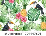 Toucan  Pineapple  Hibiscus ...