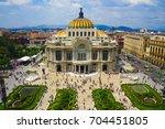 mexico city skyline   Shutterstock . vector #704451805