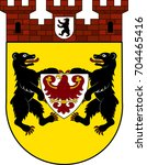 coat of arms of mitte is a... | Shutterstock .eps vector #704465416