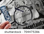 retirement savings news... | Shutterstock . vector #704475286