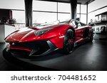 bangkok  thailand   august 26 ... | Shutterstock . vector #704481652