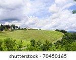 vineyard in tuscany  italy | Shutterstock . vector #70450165