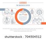 flat line illustration of... | Shutterstock . vector #704504512
