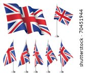 Great Britain Vector Flags. A...