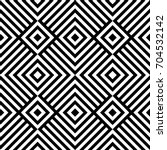 seamless pattern with rhombuses ... | Shutterstock .eps vector #704532142