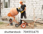 Construction Worker With A...
