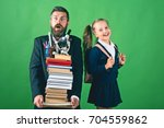 home schooling and back to... | Shutterstock . vector #704559862