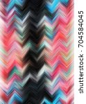 colorful zigzag striped pattern ... | Shutterstock . vector #704584045