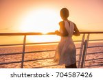 Cruise Ship Vacation Woman...