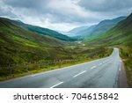 view of loch maree from glen... | Shutterstock . vector #704615842