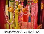 wedding decoration element.  | Shutterstock . vector #704646166