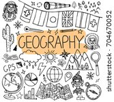 hand drawn doodles for... | Shutterstock .eps vector #704670052