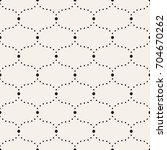 vector seamless pattern. modern ... | Shutterstock .eps vector #704670262
