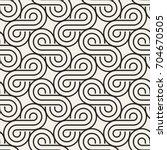 vector seamless pattern. modern ...   Shutterstock .eps vector #704670505