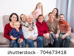 family members making the... | Shutterstock . vector #704673418