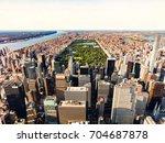 central park new york manhattan ...   Shutterstock . vector #704687878