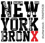 newyork city typography  slogan ...   Shutterstock .eps vector #704693428