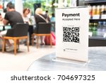 qr code payment   online... | Shutterstock . vector #704697325