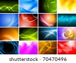 collection of abstract... | Shutterstock .eps vector #70470496